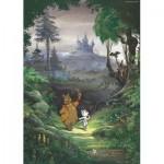 Puzzle  PuzzelMan-455 Marten Toonder - M. Bommel : Dans les Bois