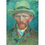 Puzzle  PuzzelMan-551 Collection Rijksmuseum Amsterdam - Van Gogh Vincent : Auto portrait