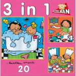 PuzzelMan-640 Noa : 3 puzzles en 1