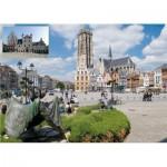 Puzzle  PuzzelMan-643 Belgique : Malines