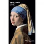 Puzzle  PuzzelMan-762 Vermeer Johannes : La Jeune Fille à la Perle