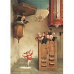 Puzzle  PuzzelMan-794 Van Dokkum Marius : Danser dans l'église