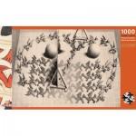 Puzzle  Puzzelman-833 MC Escher - Magic Mirror