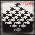 Mini Puzzle - MC Escher - Air and Water