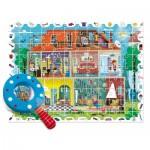 Ludattica-58259 Pièces XXL - Baby Puzzle: Ma Maison