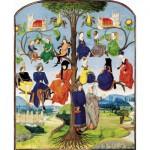 Puzzle  Puzzle-Michele-Wilson-A203-250 Arbre généalogique médiéval