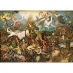 Puzzle  Puzzle-Michele-Wilson-A281-900 Bruegel : Chute des anges rebelles