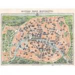 Puzzle  Puzzle-Michele-Wilson-A329-500 Plan Nouveau Paris monumental