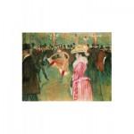 Puzzle  Puzzle-Michele-Wilson-A384-350 Toulouse-Lautrec : Bal au Moulin Rouge