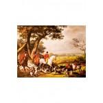 Puzzle  Puzzle-Michele-Wilson-A389-1000 Carle Vernet : La Chasse à Fontainebleau