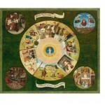Puzzle  Puzzle-Michele-Wilson-A458-1200 Jérôme Bosch - Les 7 Péchés Capitaux