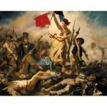 Puzzle-Michele-Wilson-A460-350 Puzzle en Bois - Eugène Delacroix : La Liberté Guidant le Peuple