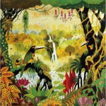Puzzle  Puzzle-Michele-Wilson-A850-80 Alain Thomas : Toucan à la cascade