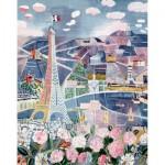 Puzzle  Puzzle-Michele-Wilson-A851-250 Dufy  : Paris au Printemps