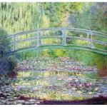 Puzzle  Puzzle-Michele-Wilson-A910-80 Monet  :  Le pont japonais