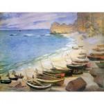 Puzzle  Puzzle-Michele-Wilson-A970-250 Monet : Etretat