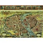 Puzzle  Puzzle-Michele-Wilson-P812-500 Plan de Paris XVIIème