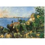 Puzzle en Bois - Cézanne