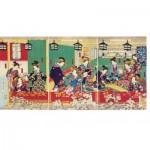 Puzzle en Bois - Utagawa - Shin Yoshiwara
