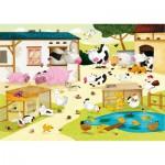 Puzzle  Puzzle-Michele-Wilson-W115-12 Huette : La ferme