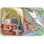 Puzzle-Michele-Wilson-W146-24 Puzzle en Bois - Dinos en Folie