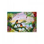 Puzzle  Puzzle-Michele-Wilson-W162-100 Alain Thomas : La Jungle