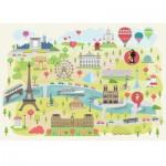Puzzle  Puzzle-Michele-Wilson-W305-24 Magda : Paris Illustré