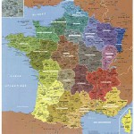 Puzzle-Michele-Wilson-W50-24 Puzzle en bois - Art Maxi 24 pièces - Géographie : Carte de france