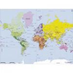 Puzzle  Puzzle-Michele-Wilson-W75-50 Géographie : Carte du monde