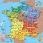 Puzzle-Michele-Wilson-W80-100 Puzzle en Bois - Carte de France avec Nouvelles Régions, 1 département = 1 pièce de puzzle