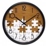 Airinou-M Pendule Murale en Métal - Motif Puzzle - 30 cm