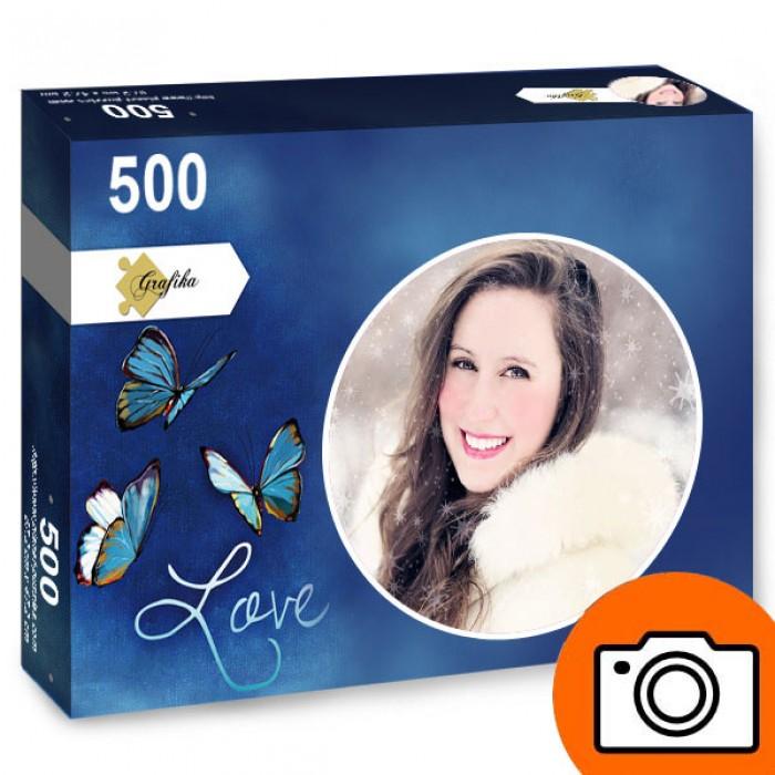 Puzzle Photo Personnalisé 500 pièces Rond