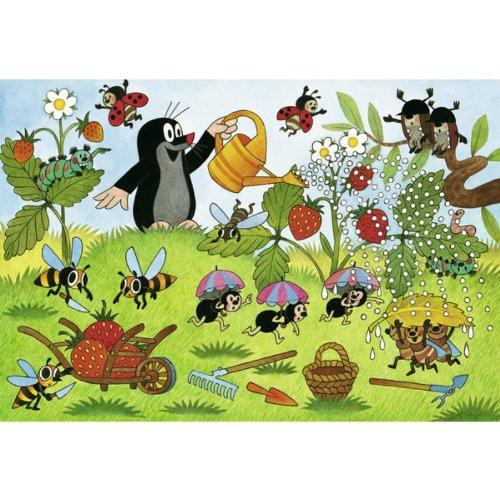 2 puzzles la taupe dans le jardin ravensburger 08861 24 for Taupe dans le jardin