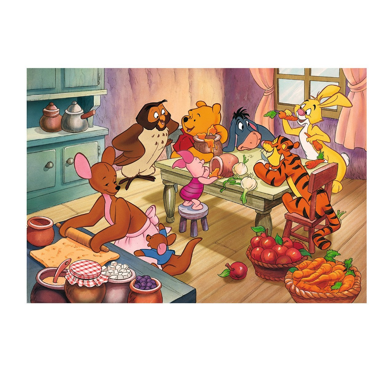 2 puzzles winnie l 39 ourson ravensburger 08856 24 pi ces puzzles autres disney planet 39 puzzles. Black Bedroom Furniture Sets. Home Design Ideas
