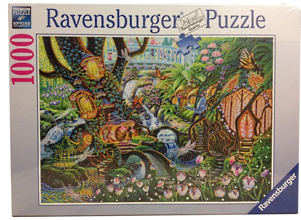 Puzzle jardin de f e ravensburger 19467 1000 pi ces puzzles anges f es et elfes planet 39 puzzles - Jardin de fee ...