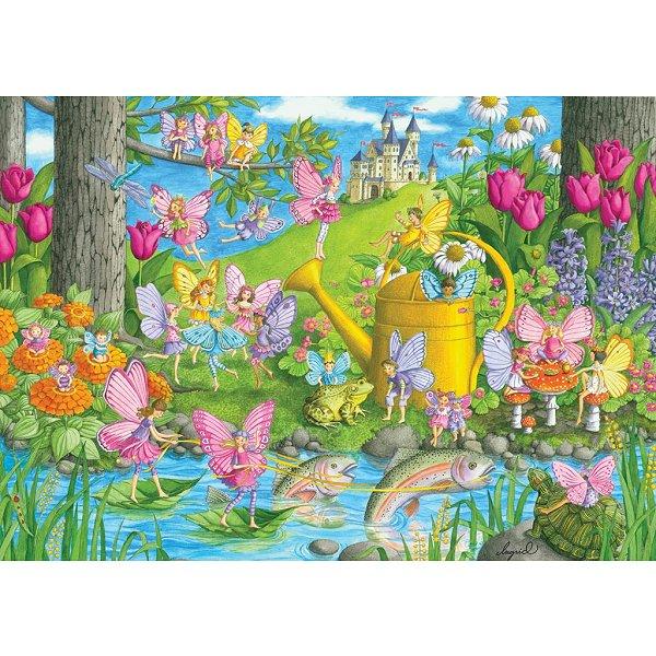 puzzle le jardin magique ravensburger 10602 100 pi ces