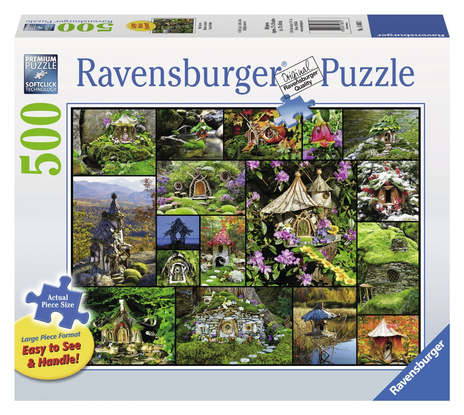 puzzle pi ces xxl maisons de f es ravensburger 14881 500. Black Bedroom Furniture Sets. Home Design Ideas