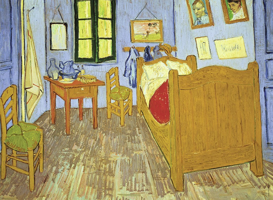 Puzzle van gogh for Chambre a arles