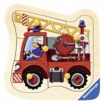Puzzle  Ravensburger-03227 Camion de Pompier