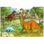 Puzzle  Ravensburger-05266 Amis dinosaures