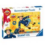 Ravensburger-05446 Puzzle Géant de Sol - Le Pompier Sam