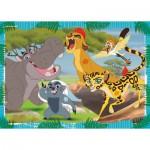 Ravensburger-05466 Puzzle Géant de Sol - Le Roi Lion