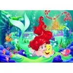 Ravensburger-05468 Puzzle Géant de Sol - Disney Princess Arielle