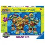 Ravensburger-05470 Puzzle Géant de Sol - Tortues Ninja