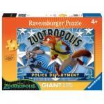 Ravensburger-05474 Puzzle Géant de Sol - Judy & Nick