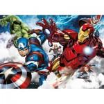 Ravensburger-05490 Puzzle Géant de Sol - Avengers