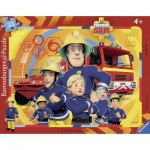 Ravensburger-06114 Puzzle Cadre - Fireman Sam