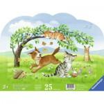 Ravensburger-06118 Puzzle Cadre - Bébés Animaux