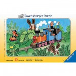 Puzzle  Ravensburger-06349 Taupinet,  Conducteur de locomotive