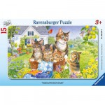 Ravensburger-06355 Puzzle Cadre - Photo de famille